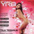 Tila Tequila en couverture du magazine YRB !