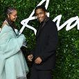 """Rihanna, ASAP Rocky - Les célébrités assistent à la cérémonie """"Fashion Awards"""" à Londres, le 2 décembre 2019."""