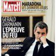 """Couverture du magazine """"Paris Match"""", numéro du 3 décembre 2020."""