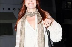 La très jolie Ali Larter : Découvrez son nouveau look... flamboyant !