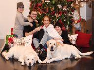 Céline Dion avec ses 3 fils pour Noël, René-Charles changé sans ses lunettes