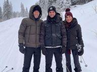 Zinédine Zidane et sa femme Véronique : break détente à la montagne, avec tous leurs fils