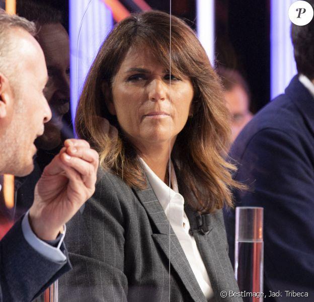 Exclusif - Valérie Benaïm sur le plateau de l'émission TPMP (Touche pas à mon post) en direct sur C8. © Jack Tribeca / Bestimage
