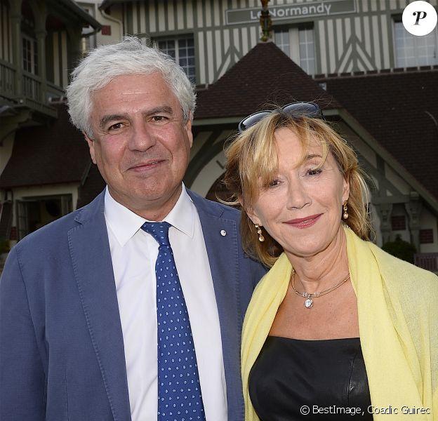 Marie-Anne Chazel et son compagnon Philippe Raffard - Inauguration de l'hôtel Barrière Le Normandy à Deauville. © Coadic Guirec/Bestimage