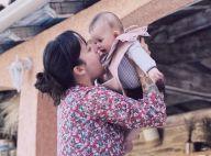 Alizée maman : jolies photos de sa fille Maggy pour la nouvelle année