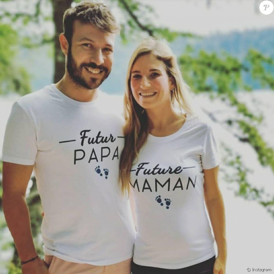 Charline Et Vivien De Maries Au Premier Regard L Annonce De La Grossesse Sur Instagram Le 21 Juillet 2020 Purepeople