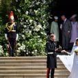 Le prince Harry, duc de Sussex, et Meghan Markle, duchesse de Sussex, à la sortie de chapelle St. George au château de Windsor - Sortie après la cérémonie de mariage du prince Harry et de Meghan Markle en la chapelle Saint-George au château de Windsor, Royaume Uni, le 19 mai 2018.