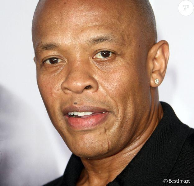 """Dr. Dre - Avant-première du film """"N.W.A - Straight Outta Compton"""" à Los Angeles, le 10 août 2015."""