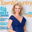 La belle January Jones en couverture de  Town&Country  !