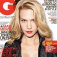 January Jones fait la couverture de GQ de Novembre 2009, so sexy !