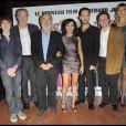 L'équipe du film lors de la première de Rose & Noir à Paris le 13 octobre 2009