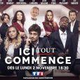 """Aurélie Pons, l'interprète de Salomé Dekens dans """"Ici tout commence"""" sur TF1."""