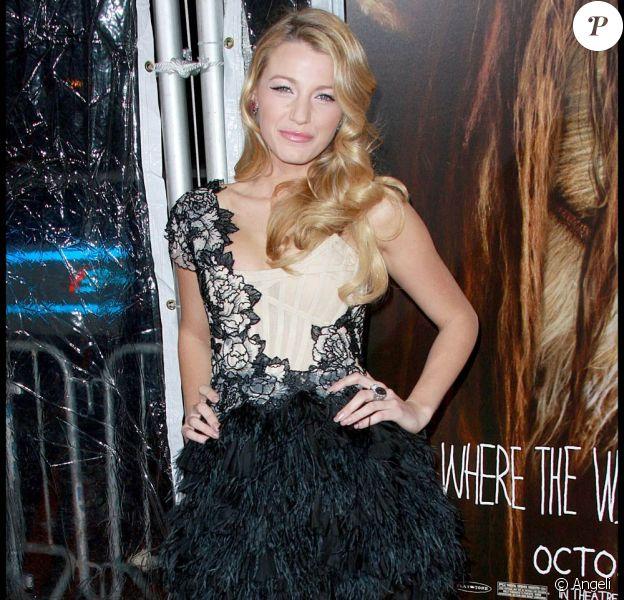Blake Lively très ravissante, à l'occasion de l'avant-première de Max et les Maximonstres, à l'Alice Tully Hall de New York, le 13 octobre 2009 !