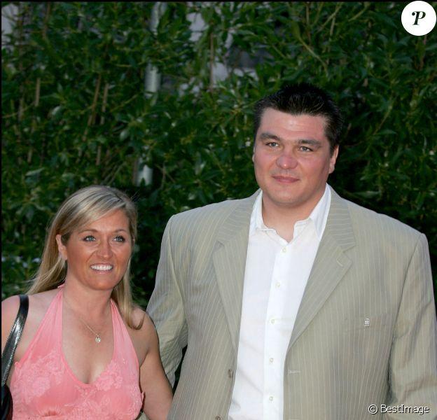 David Douillet et Valérie - Soirée Laureus au Portugal