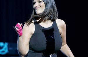 Laura Pausini : Toujours aussi combative sur scène... et très en forme(s) !