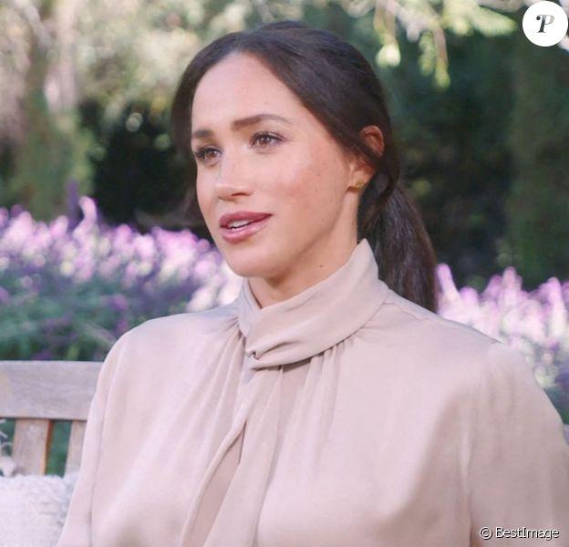 """Meghan Markle, duchesse de Sussex, fait une apparition à la télévision américaine dans l'émission """"CNN Heroes"""" le 13 decembre 2020."""