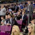 Madeleine de Suède au Madison Square Garden lors d'un match de hockey le 14 octobre 2009