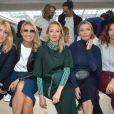 Julie Gayet, Alexandra Lamy, Audrey Lamy, Lilou Fogli et Aurélie Saada - Front Row du défilé Lacoste Collection Prêt-à-Porter Printemps/Eté 2020 lors de la Fashion Week de Paris, le 1er octobre 2019. © Veeren Ramsamy-Christophe Clovis/Bestimage