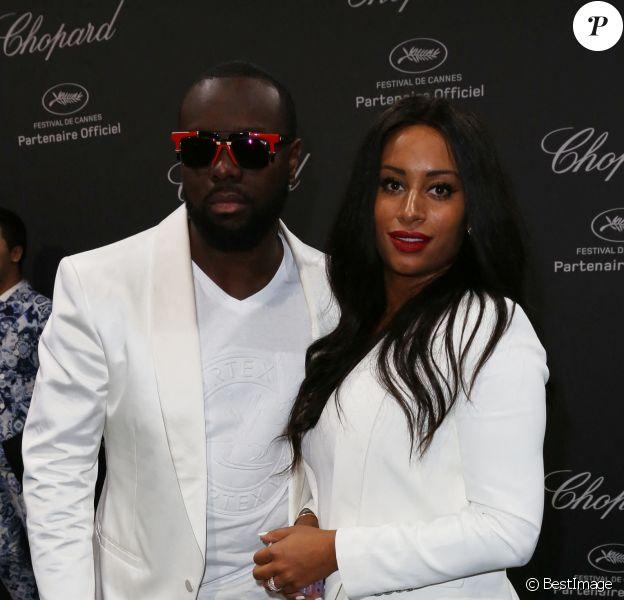 Maitre Gims et sa femme DemDem - Photocall de la soirée Chopard lors du 69ème Festival International du Film de Cannes.