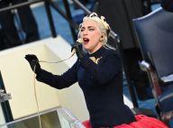 Lady Gaga en robe spectaculaire, elle assure l'hymne national à l'investiture de Joe Biden