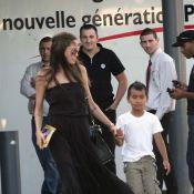 Quand Angelina Jolie va au supermarché avec Maddox... c'est une maman comme les autres !