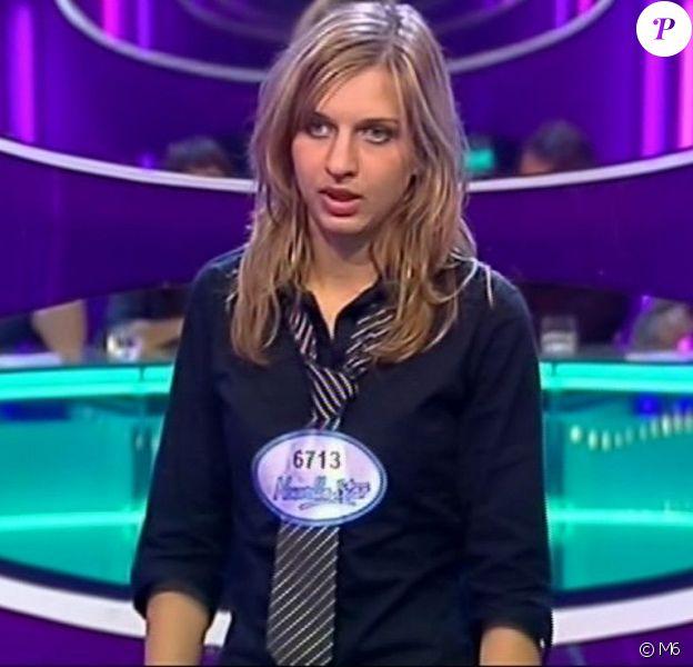 """Amandine Bourgeois, candidate à la """"Nouvelle Star""""."""
