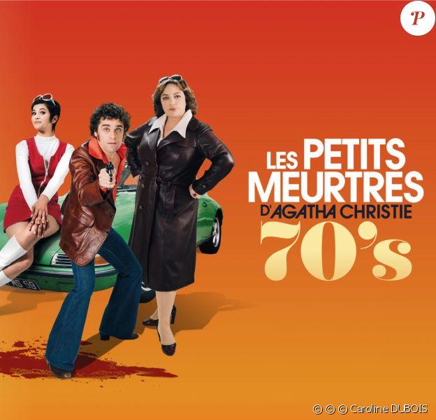 """Arthur DUPONT (Max), Emilie GAVOIS-KAHN (Gréco), Chloé CHAUDOYE (Rose) sont les nouveaux enquêteurs dans """"Les Petits meurtres d'Agatha Christie"""" sur France 2."""