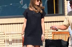 Rebecca Gayheart : Elle porte enfin sa première robe... de grossesse !