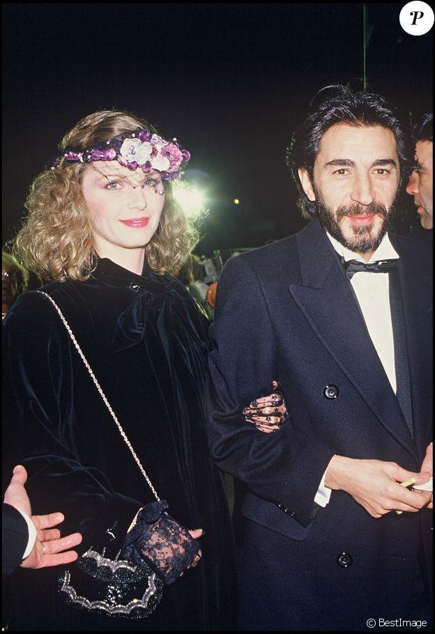 Jeane Manson et Richard Berry aux César en 1985.