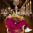 """Exclusif -Mika - Enregistrement de l'émission """"La grande soirée du 31 à Versailles"""", qui sera diffusée sur France 2. © Tiziano Da Silva - Cyril Moreau / Bestimage"""