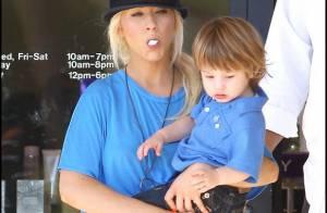 Christina Aguilera : Débordée, elle n'a même pas le temps... de nourrir son fils !