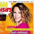 """Couverture de """"Télé Loisirs"""" du 8 février 2021"""