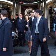 Le roi Abdallah II et Rania de Jordanie rendent visite au président italien à Rome le 20 octobre 2009