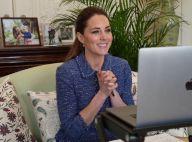 Kate Middleton en visio malgré la fatigue : brushing impeccable et nouveau pull trompe-l'oeil