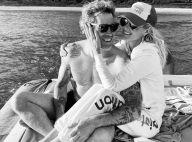 """Laeticia Hallyday et Jalil Lespert : baiser fougueux pour leur """"meilleure St-Valentin"""""""