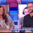 """Nathalie Marquay raconte sa surprise coquine faite à son mari Jean-Pierre Pernaut pour la Saint-Valentin - """"Touche pas à mon poste"""", C8"""