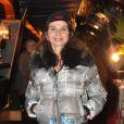 Victoria Abril pour les 60 ans des Bateaux-Mouches à Paris (22 octobre 2009)