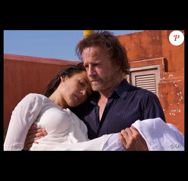 Sophie Marceau et Christophe Lambert dans L'Homme de Chevet