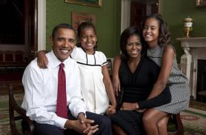 Barack Obama, sa femme et leurs enfants : L'harmonie incarnée... et sublimée !