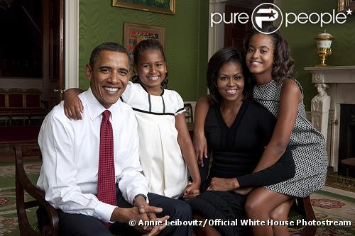 La famille Obama prise en photo par Annie Leibovitz