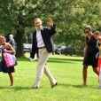 La famille Obama au naturel