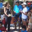 Nâdiya pour Mission sauvage : des stars au secours des animaux sur NT1