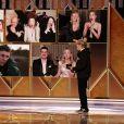 Andra Day (The United States vs. Billie Holiday) - 78ème cérémonie des Golden Globe Awards, le 28 février 2021.