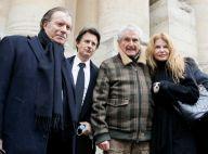 Hommage à Rémy Julienne : l'émotion de sa compagne, soutenue par Gaël Leforestier et Vincent Perrot