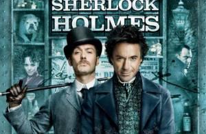 Jude Law et Robert Downey Jr. s'affichent définitivement... Ils sont bien Sherlock et Watson !