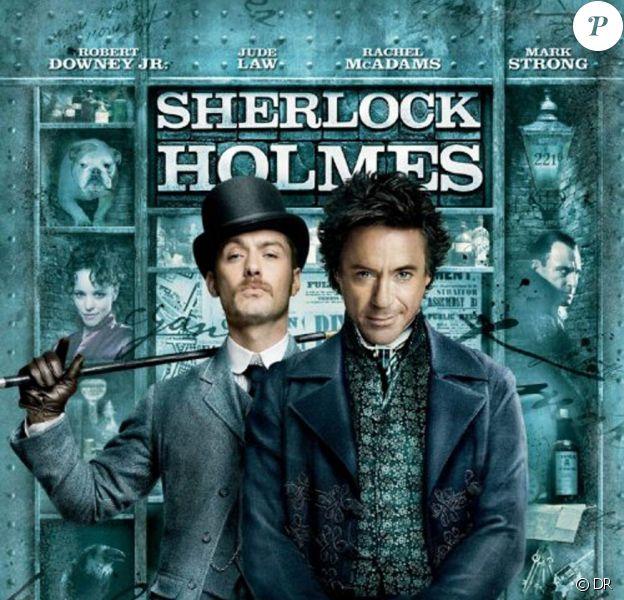 L'affiche officielle et définitive de Sherlock Holmes, de Guy Ritchie !