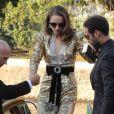 Natalie Portman et son mari Benjamin Millepied arrivent à l'hôtel Excelsior lors du 75ème festival du film de Venise, la Mostra, le 4 septembre 2018.