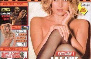 La très sexy Jalane se met à nu... pour son grand retour ! Totalement à nu...
