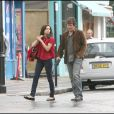 Freida Pinto et Josh Brolin sur le tournage de You Will Meet A Tall Dark Stranger