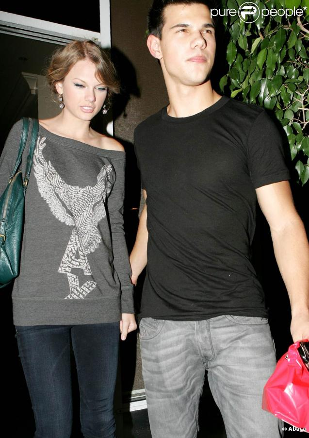 Taylor Swift et Taylor Lautner à Los Angeles, le 28 octobre 2009
